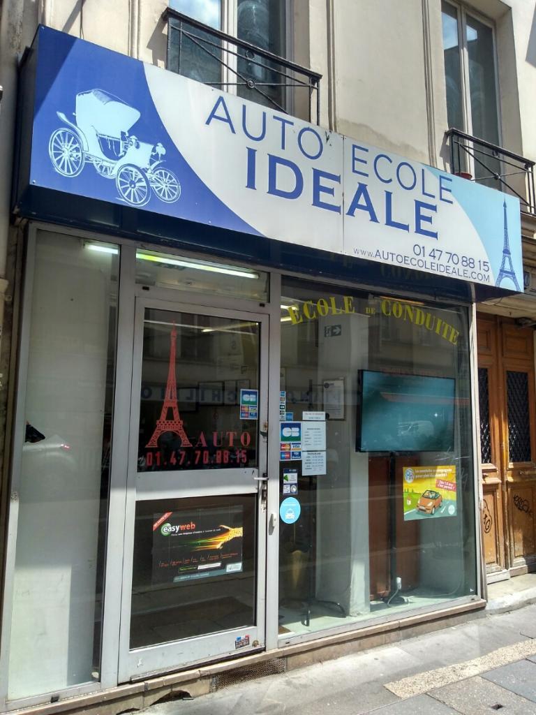 auto ecole ideale auto cole 40 rue du faubourg montmartre 75009 paris adresse horaire. Black Bedroom Furniture Sets. Home Design Ideas
