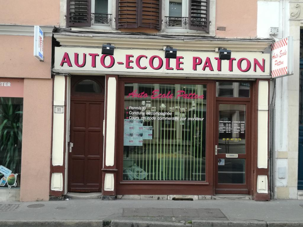 auto ecole patton auto cole 11 rue de l 39 arm e patton 54000 nancy adresse horaire. Black Bedroom Furniture Sets. Home Design Ideas