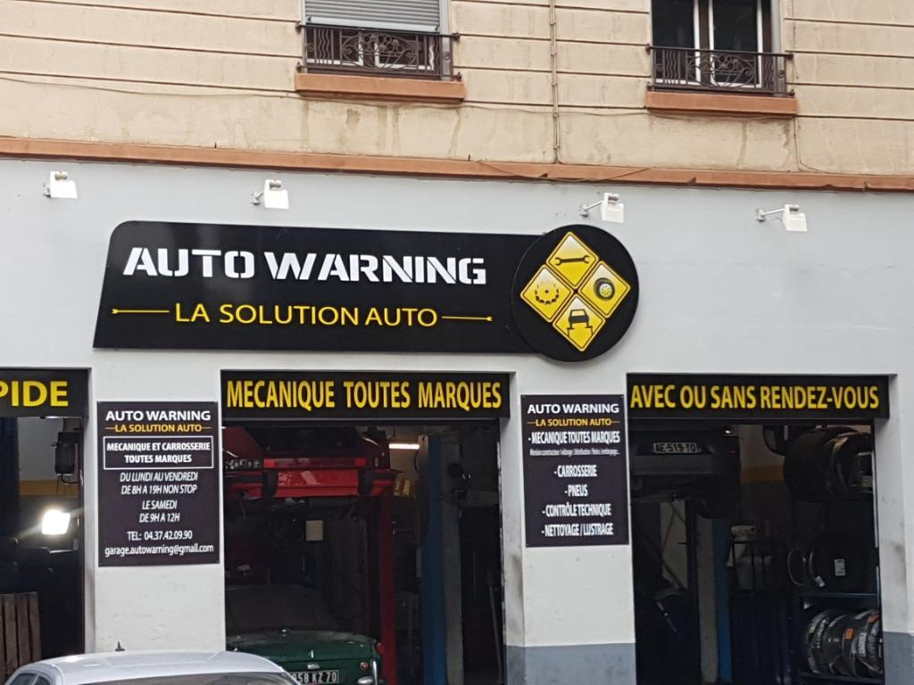 Auto warning garage automobile 161 boulevard stalingrad for Garage ouvert lyon