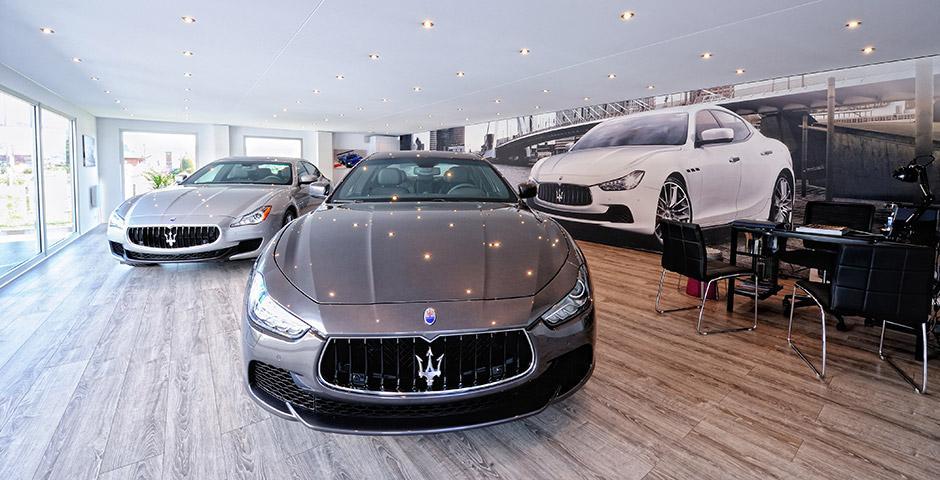 Maserati automotion garage automobile 1040 route for Garage auto annecy