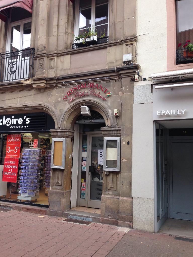 Aux clefs de colmar restaurant 36 rue clefs 68000 - Horaire castorama colmar ...