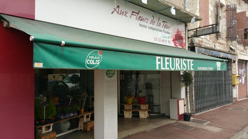 aux fleurs de la tour - fleuriste, 9 avenue maréchal leclerc 47300