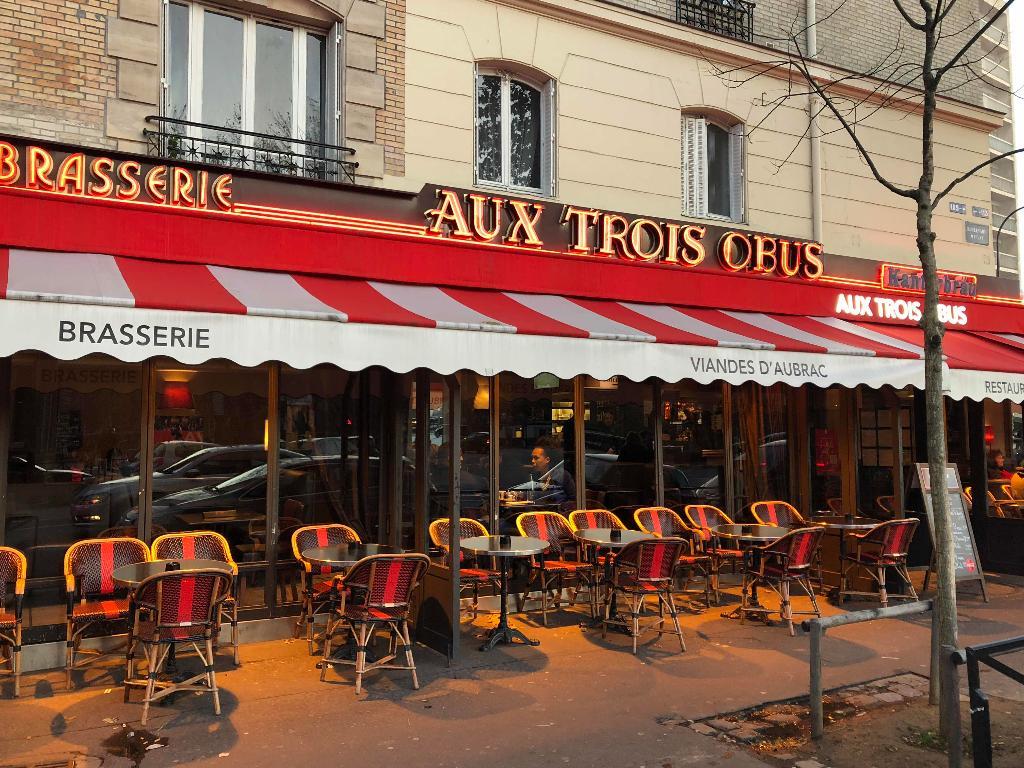 Aux trois obus restaurant 120 rue michel ange 75016 paris adresse horaire - Restaurant porte de la chapelle ...