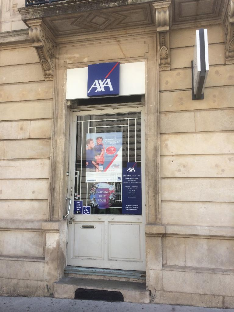 Axa gouvenel g rald agent g n ral banque 21 rue gustave for Dommage ouvrage axa