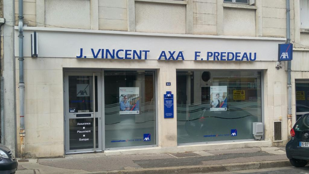 Axa vincent jacques predeau freddy agents g n raux for Dommage ouvrage axa