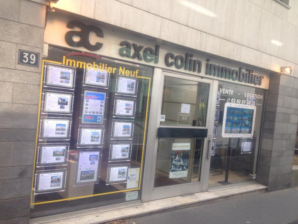 Axel colin immobilier agence immobili re 37 boulevard for Agence immobiliere 37