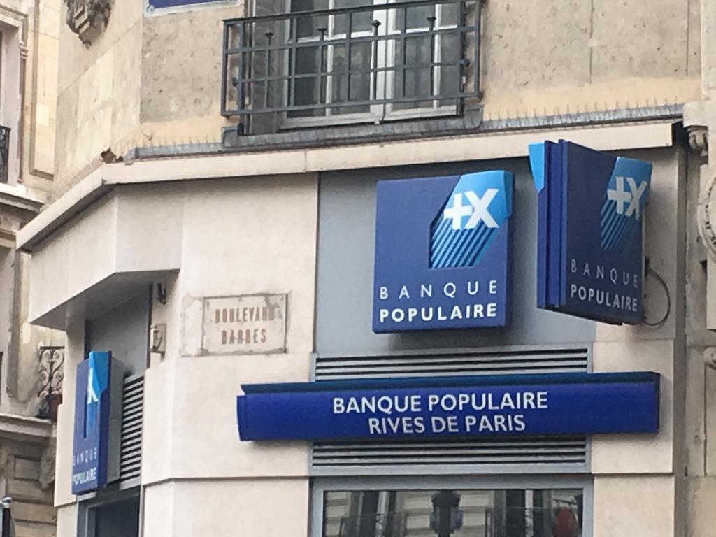 Banque Populaire Rives De Paris Banque 86 Boulevard Barbes 75018