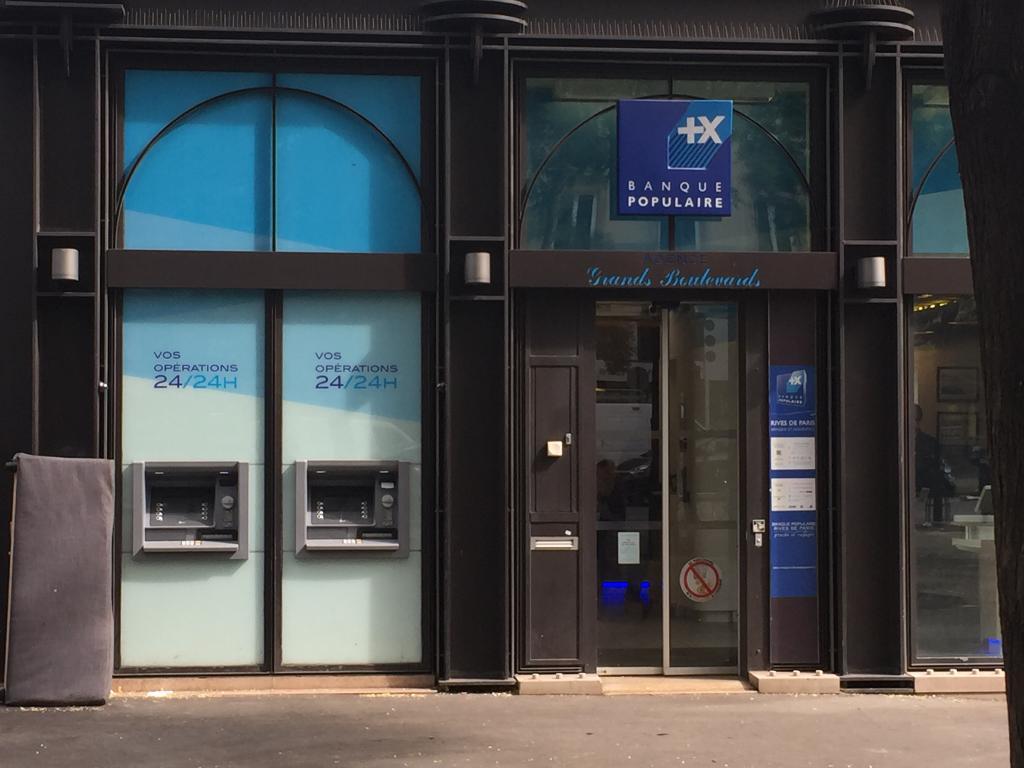 Banque Populaire Rives De Paris 34 Bd Bonne Nouvelle 75010 Paris