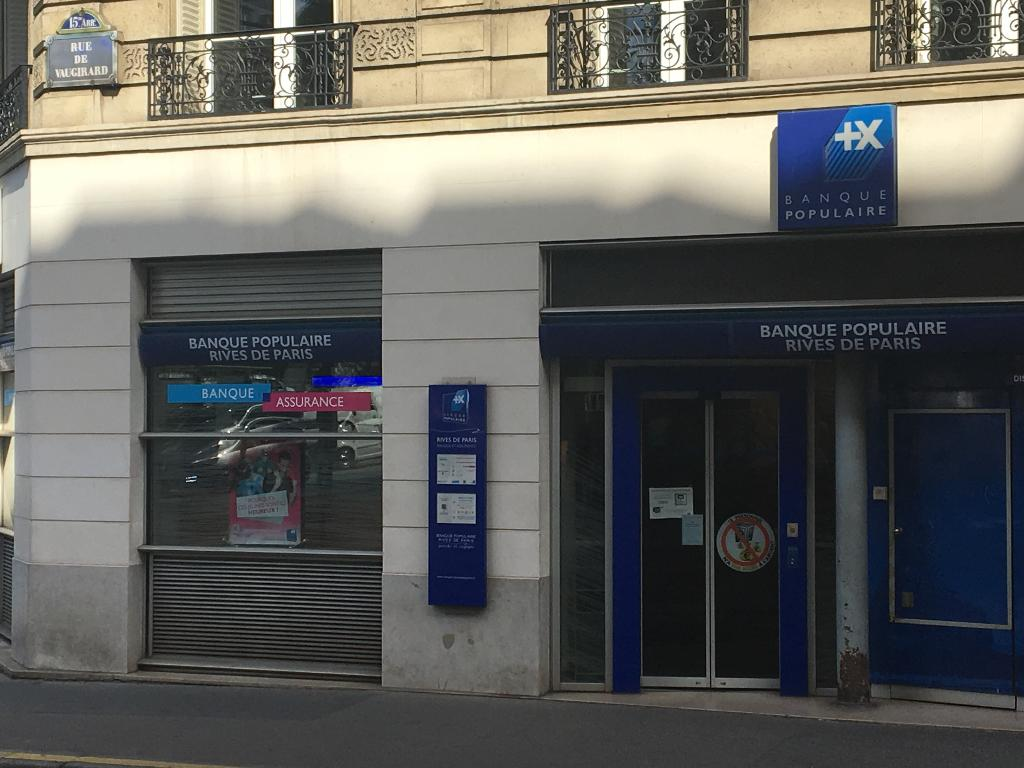 Banque Populaire Rives De Paris 164 R Vaugirard 75015 Paris