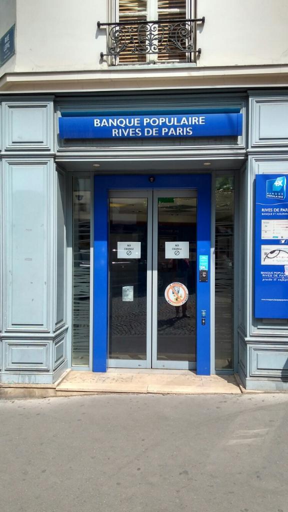 Banque Populaire Rives De Paris Banque 36 Rue Lepic 75018 Paris