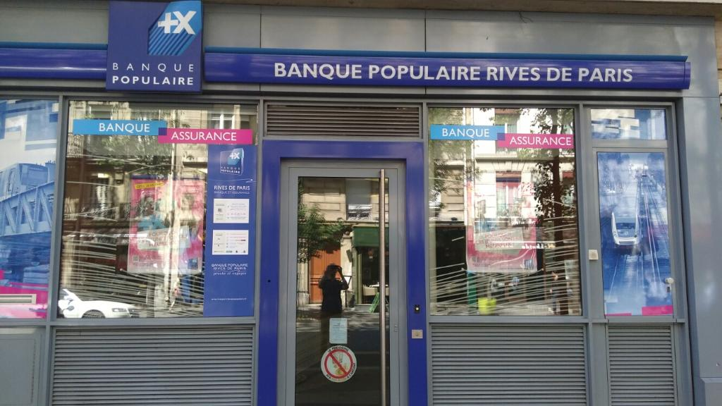 Banque Populaire Rives De Paris 117 Bis R Ordener 75018 Paris