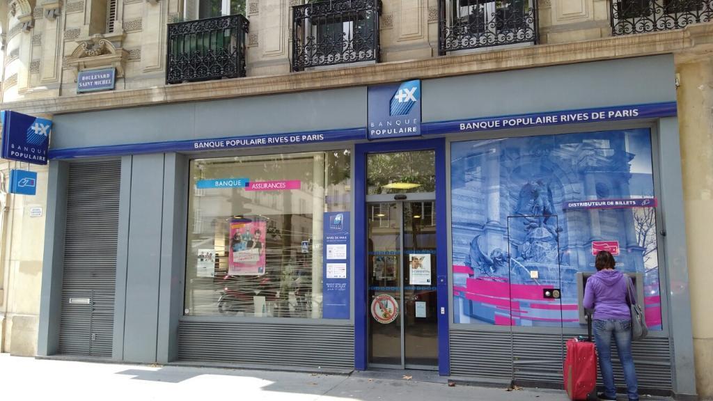Banque Populaire Rives De Paris Banque 88 Boulevard Saint Michel