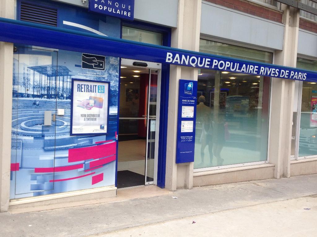 Banque Populaire Rives De Paris 5 R Crimee 75019 Paris Banque