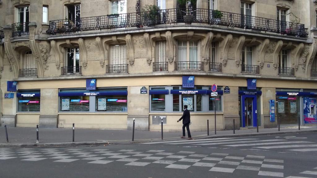 Banque Populaire Rives De Paris Banque 31 Rue Maurice Ripoche