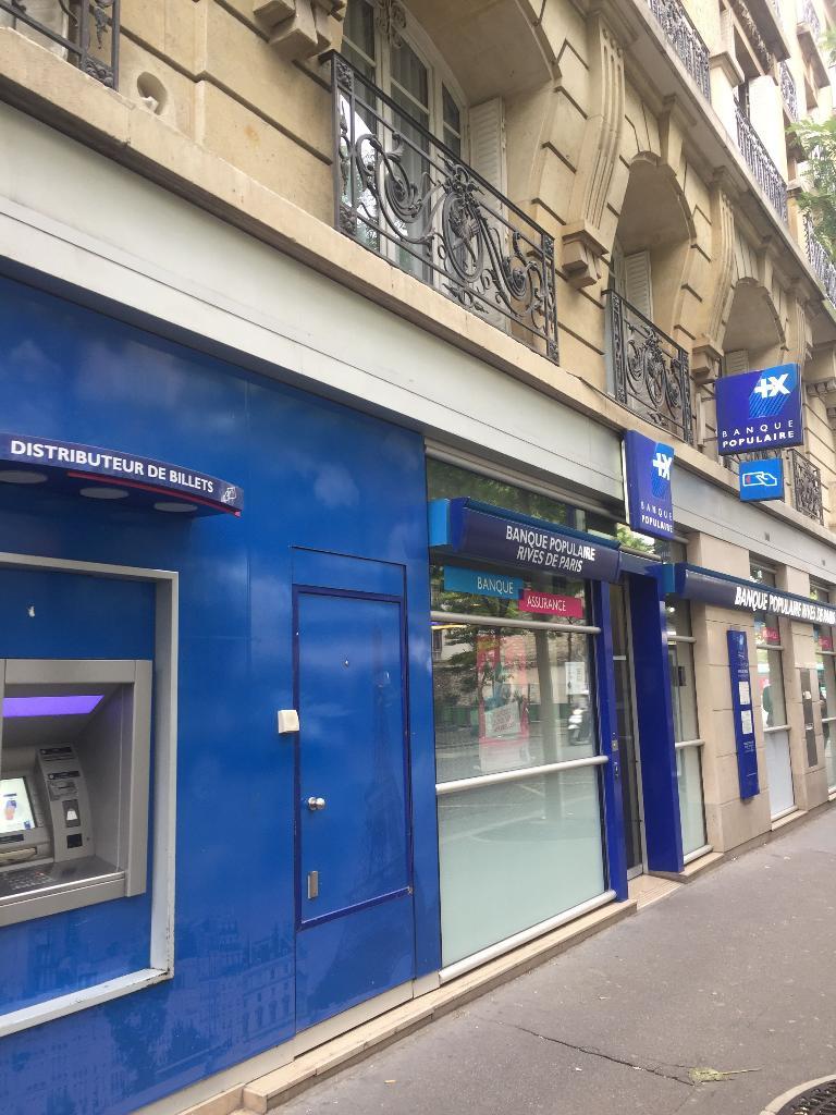 Banque Populaire Rives De Paris 403 Bis R Vaugirard 75015 Paris