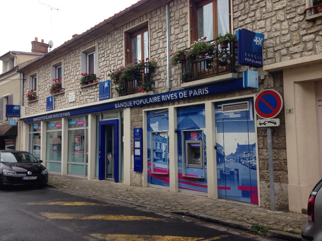 Banque Populaire Rives De Paris 3 R St Wulfran 91490 Milly La