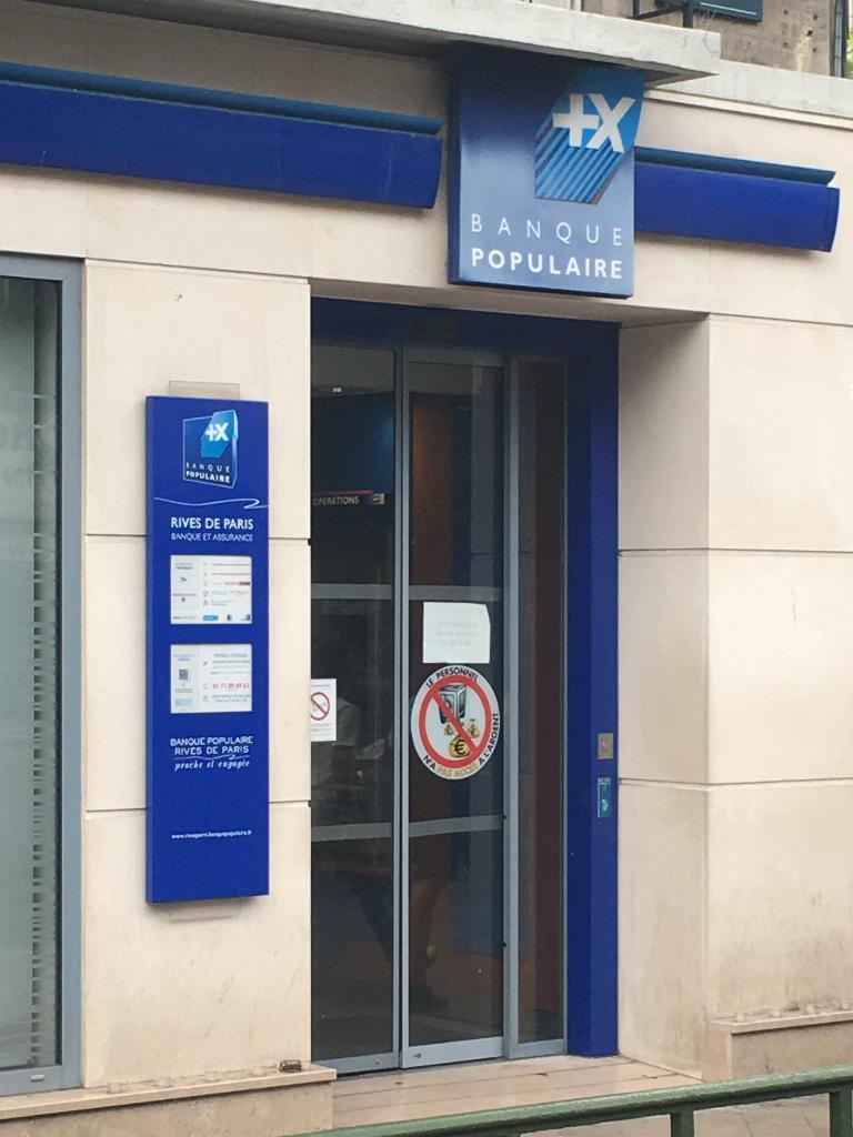 Banque Populaire Rives De Paris 55 Av Jean Lolive 93500 Pantin