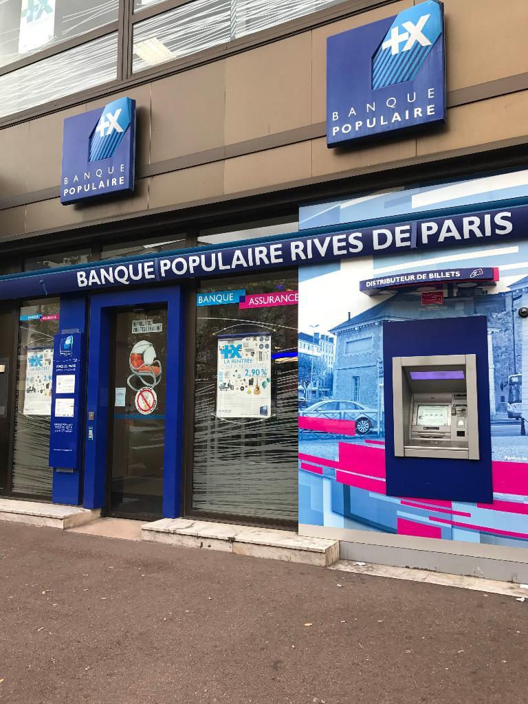 Banque Populaire Rives De Paris 46 Av Victor Hugo 93320 Les