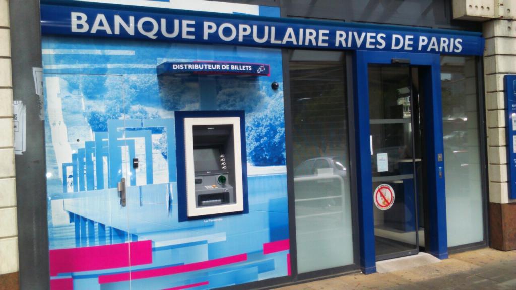 Banque Populaire Rives De Paris 3 Pl Trois Gares 95800 Cergy