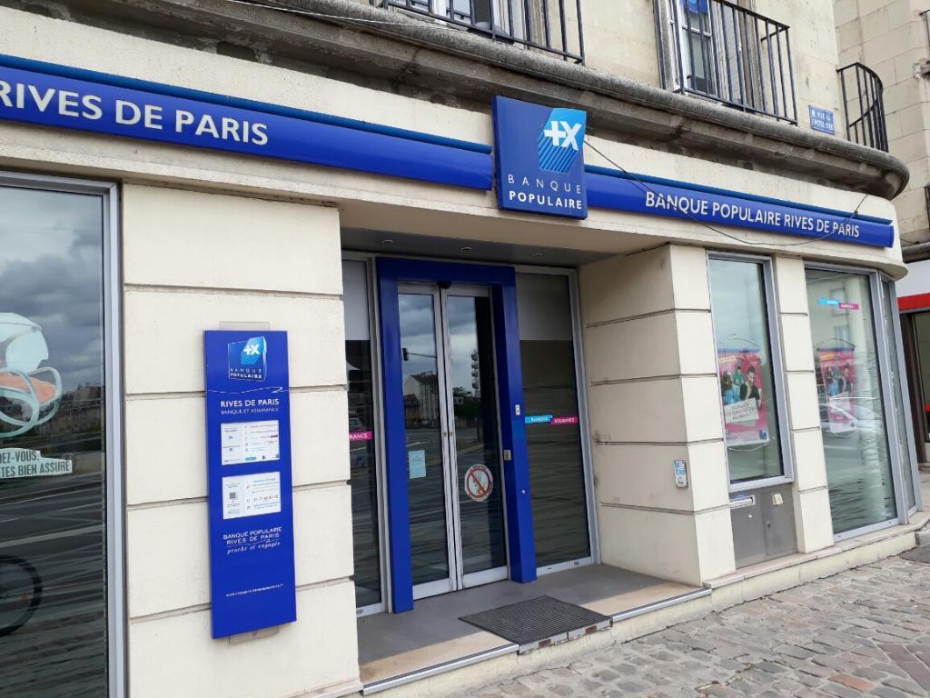Banque Populaire Rives De Paris 2 R Hotel Dieu 95300 Pontoise