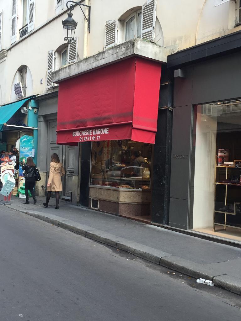 Barone gilles boucherie charcuterie 6 rue march saint honor 75001 paris - Marche st pierre paris horaires d ouverture ...