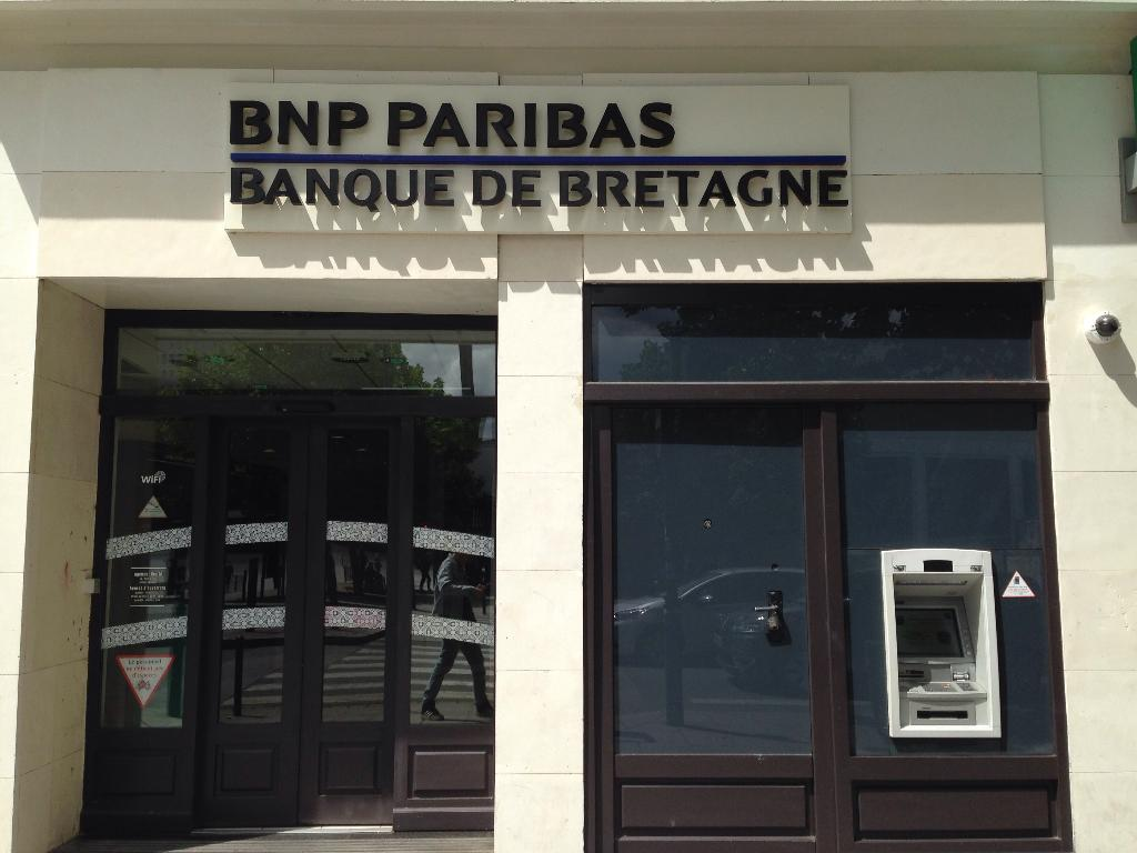 bnp paribas banque 12 rue d 39 isly 35000 rennes adresse horaire. Black Bedroom Furniture Sets. Home Design Ideas