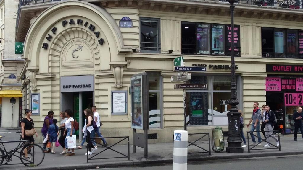 Bnp paribas banque 55 rue de rivoli 75001 paris for Parking exterieur paris