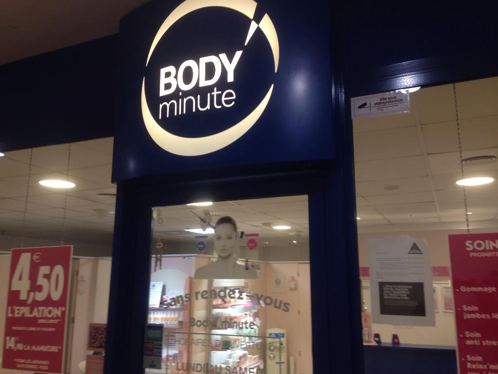 body minute institut de beaut centre commercial m riadeck 33000 bordeaux adresse horaire. Black Bedroom Furniture Sets. Home Design Ideas