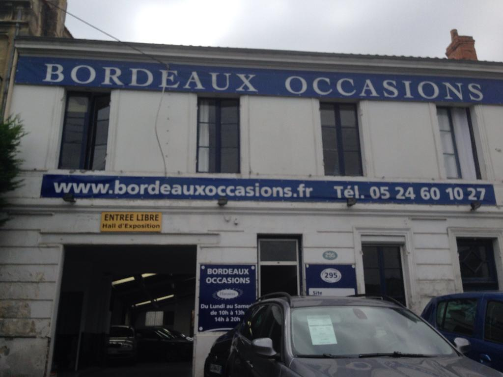bordeaux occasions concessionnaire automobile 295 route de toulouse 33140 villenave d 39 ornon. Black Bedroom Furniture Sets. Home Design Ideas
