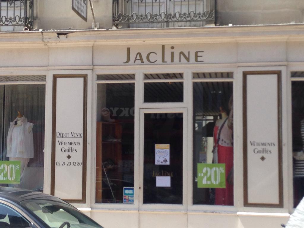 Boutique Jacline Rennes Dépôts Ventes Vêtements Adresse