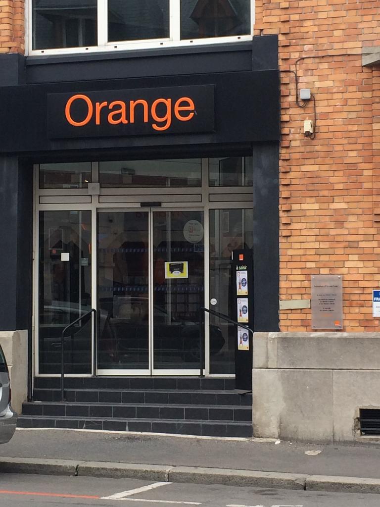 boutique orange vente de t l phonie 3 rue de lyon 02100. Black Bedroom Furniture Sets. Home Design Ideas