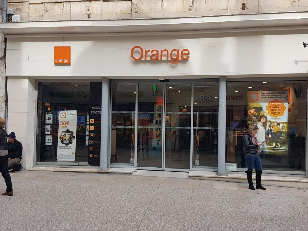 boutique orange vente de t l phonie 25 rue de la. Black Bedroom Furniture Sets. Home Design Ideas
