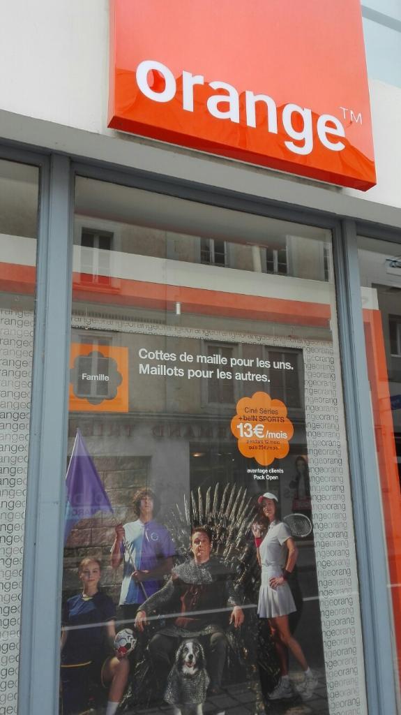 boutique orange vente de t l phonie 5 rue du g n ral de gaulle 53000 laval adresse horaire. Black Bedroom Furniture Sets. Home Design Ideas