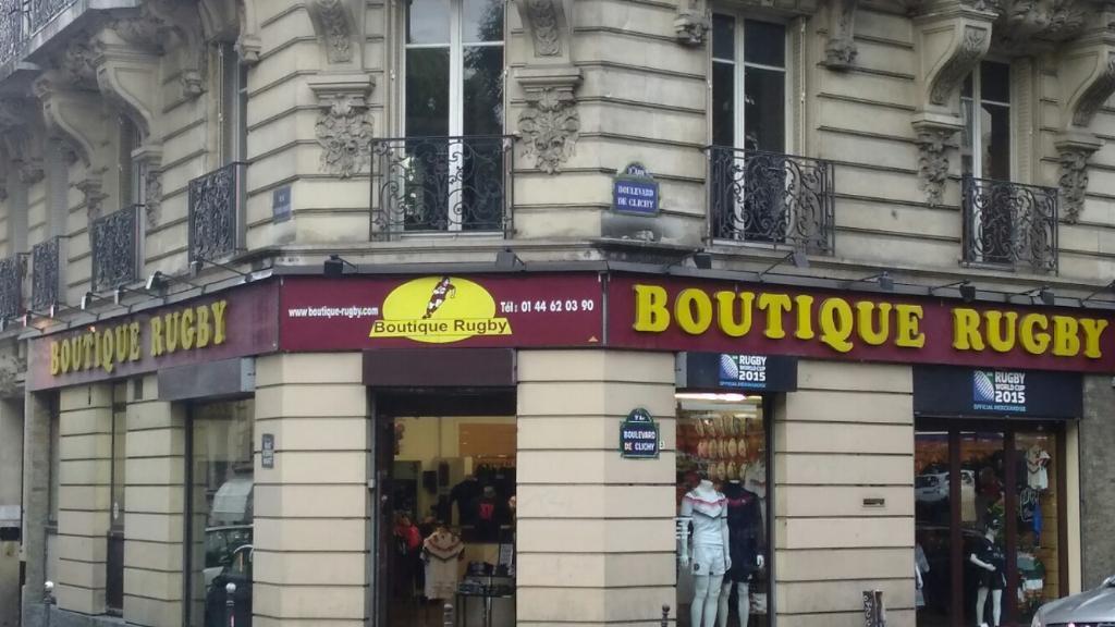 boutique rugby magasin de sport 75 bis boulevard de clichy 75009 paris adresse horaire. Black Bedroom Furniture Sets. Home Design Ideas