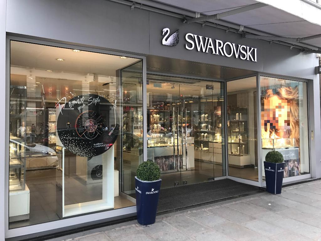 Swarovski - Bijoux, 57 rue de Rivoli 75001 Paris - Adresse, Horaire 9243765b55eb