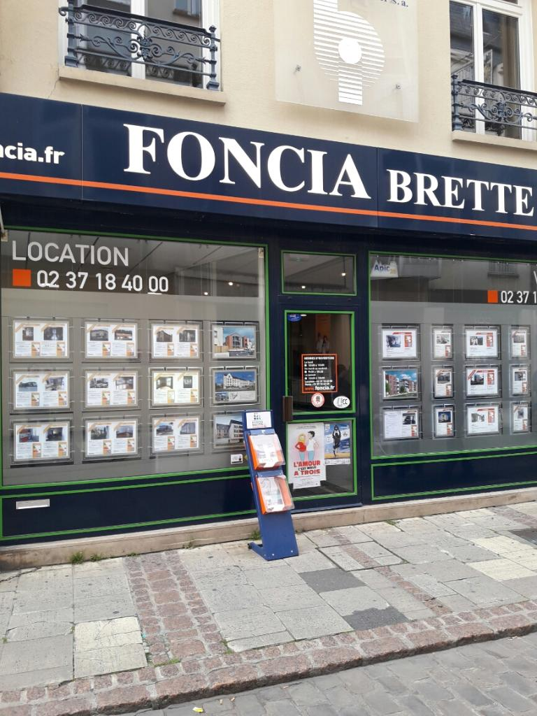 Foncia brette immobilier agence immobili re 34 rue no l for Agence immobiliere 37