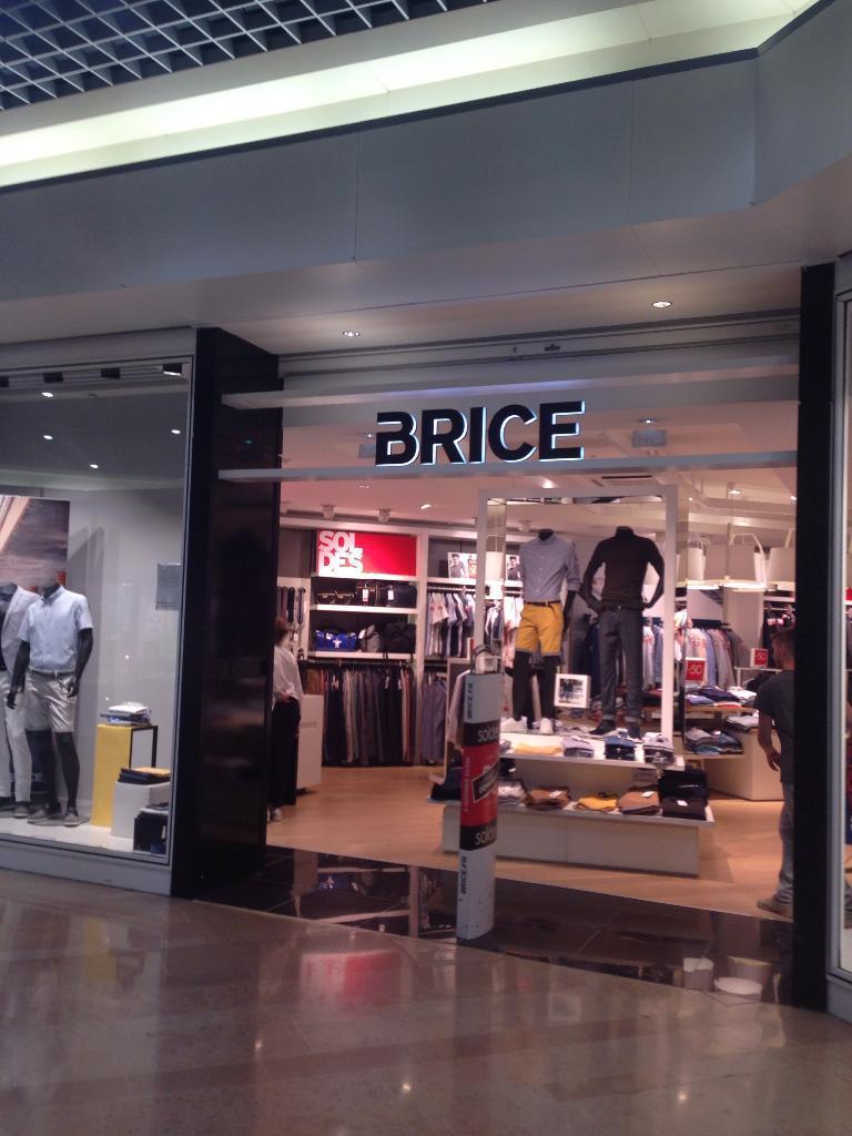 Brice v tements homme centre commercial croix dampierre for Centre commercial croix dampierre