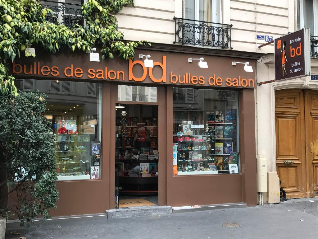 Bulles de salon librairie 87 rue daguerre 75014 paris - Salon de the librairie ...