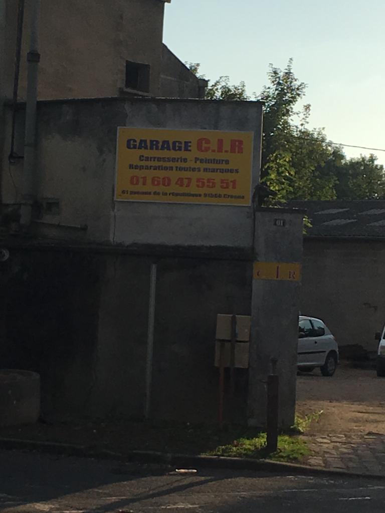 c i r garage automobile 61 avenue r publique 91560 ForGarage De La Plaine Haute Crosne