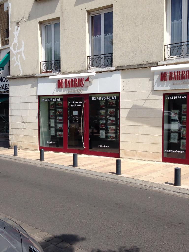 Cabinet De Barros Bernard Agence immobilière, 73 avenue Général de Gaulle 94700 Maisons alfort