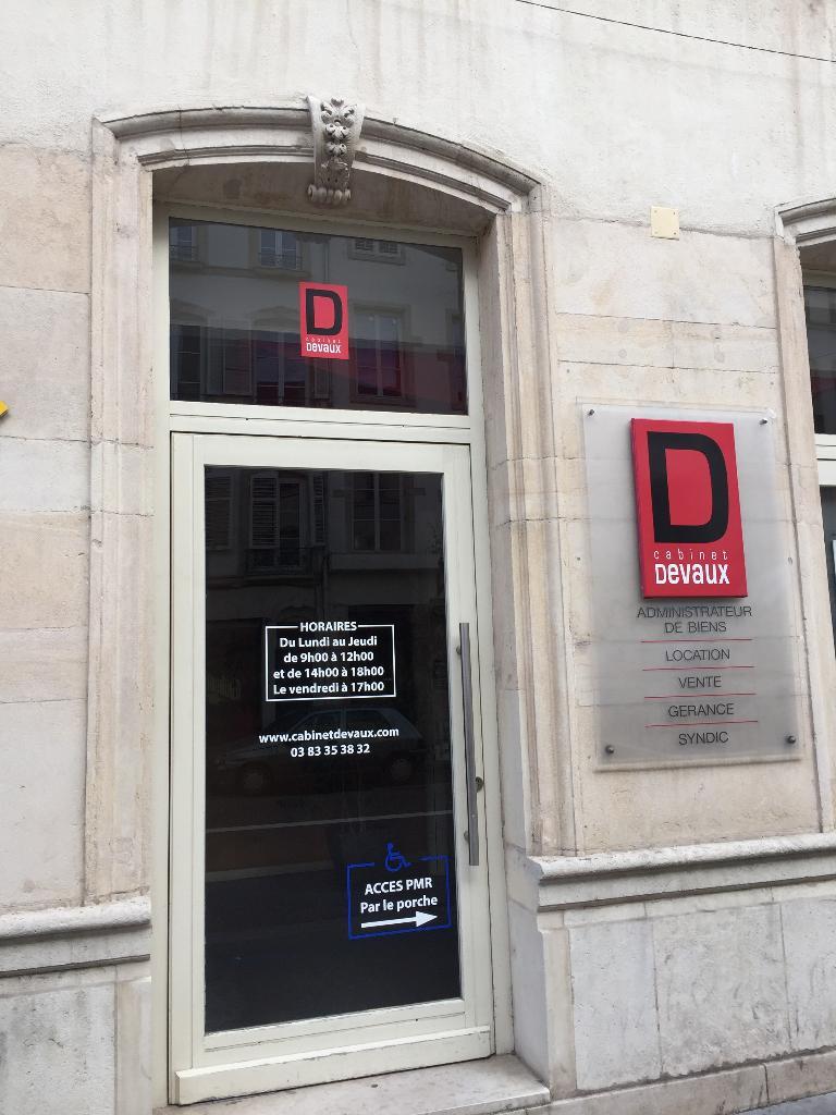 Cabinet devaux agence immobili re 127 rue saint dizier - Cabinet radiologie rue saint dizier nancy ...