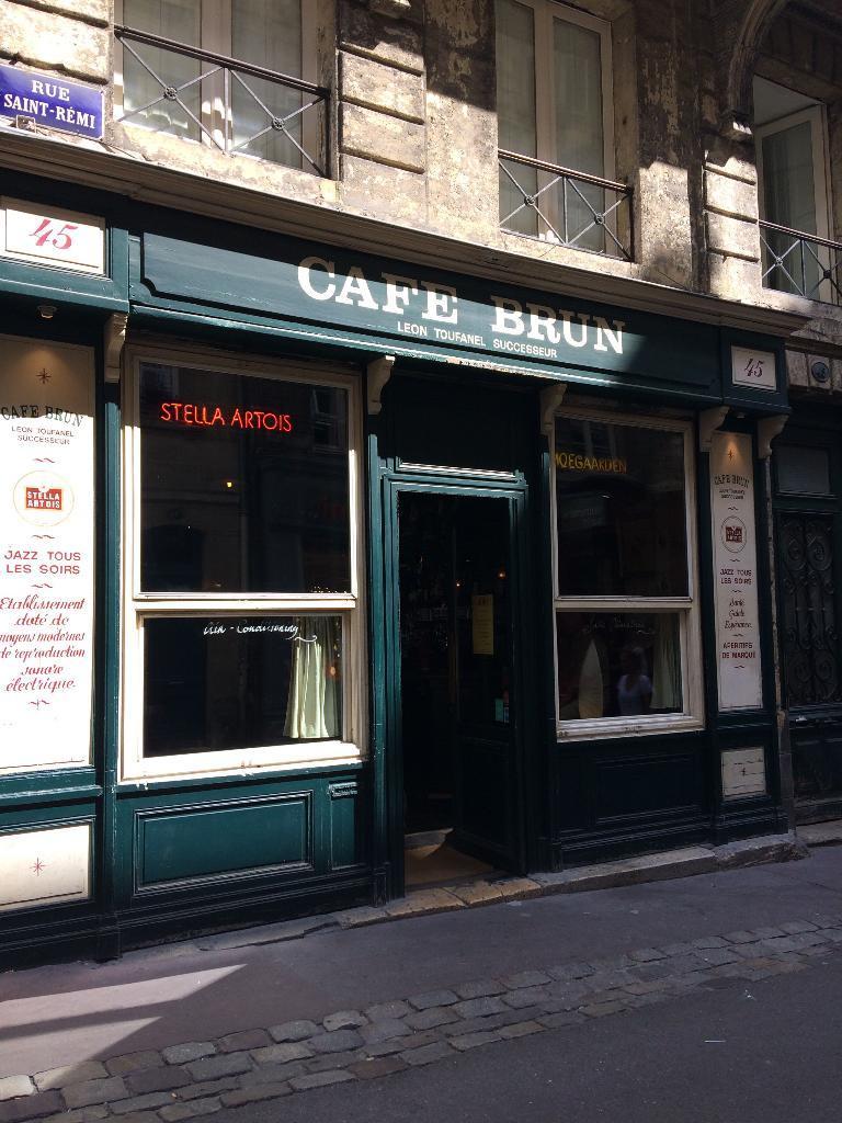Cafe Saint Remi A Bordeaux