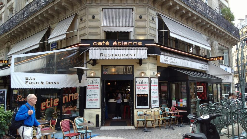 Cafe Etienne Rue Turbigo