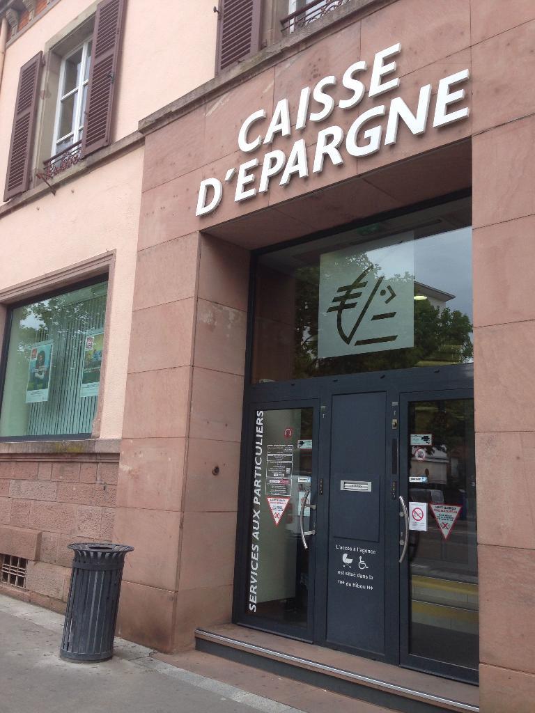 Caisse D Epargne D Alsace 1 R Pres Raymond Poincare 67600 Selestat