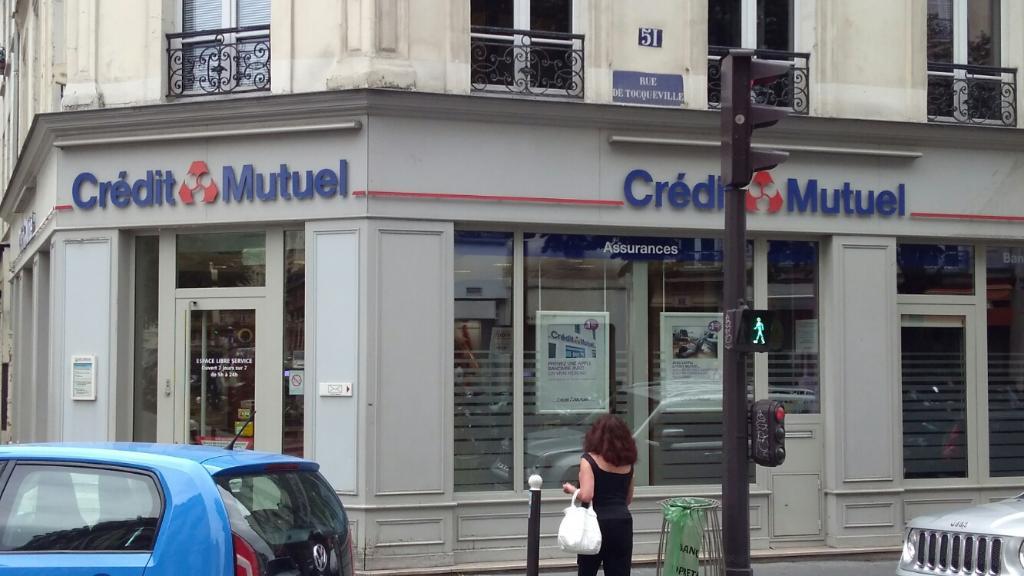 Crédit Mutuel - Banque, 101 rue Cardinet 75017 Paris - Adresse, Horaire