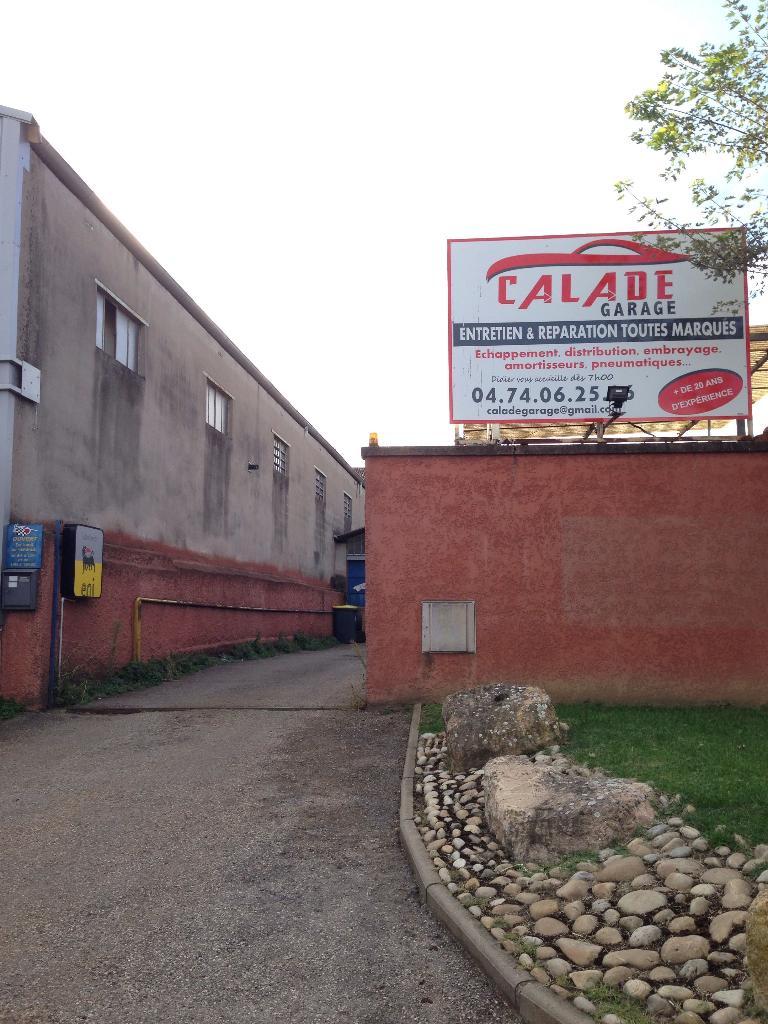 Calade garage garage automobile 174 rue grange blazet - Garage thivolle villefranche sur saone ...