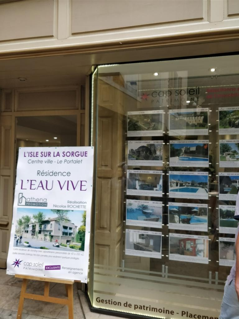 Cap soleil immobilier agence immobili re 2 rue carnot for Agence immobiliere isle sur la sorgue