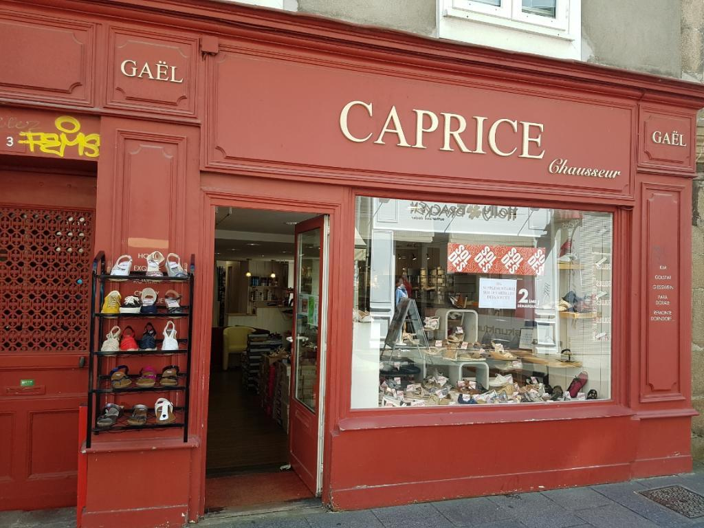 caprice chaussures 3 rue chapeau rouge 29000 quimper adresse horaire. Black Bedroom Furniture Sets. Home Design Ideas