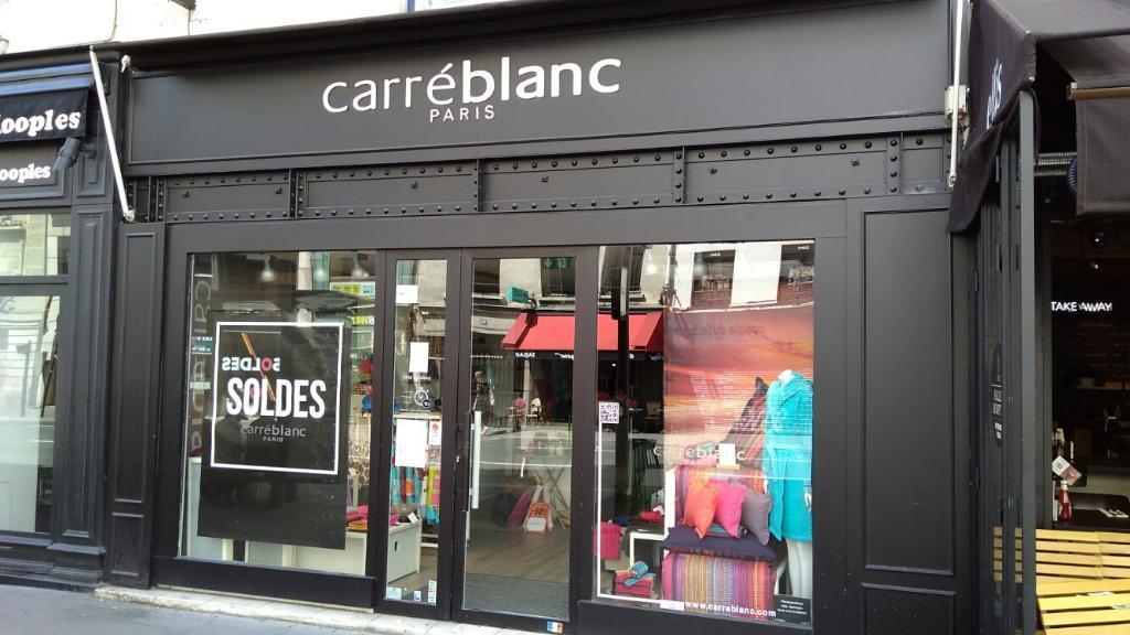 b2218024948c2f Carré Blanc Boutiques. Linge de maison. 58 Bis rue Faubourg Saint Antoine  75012 Paris