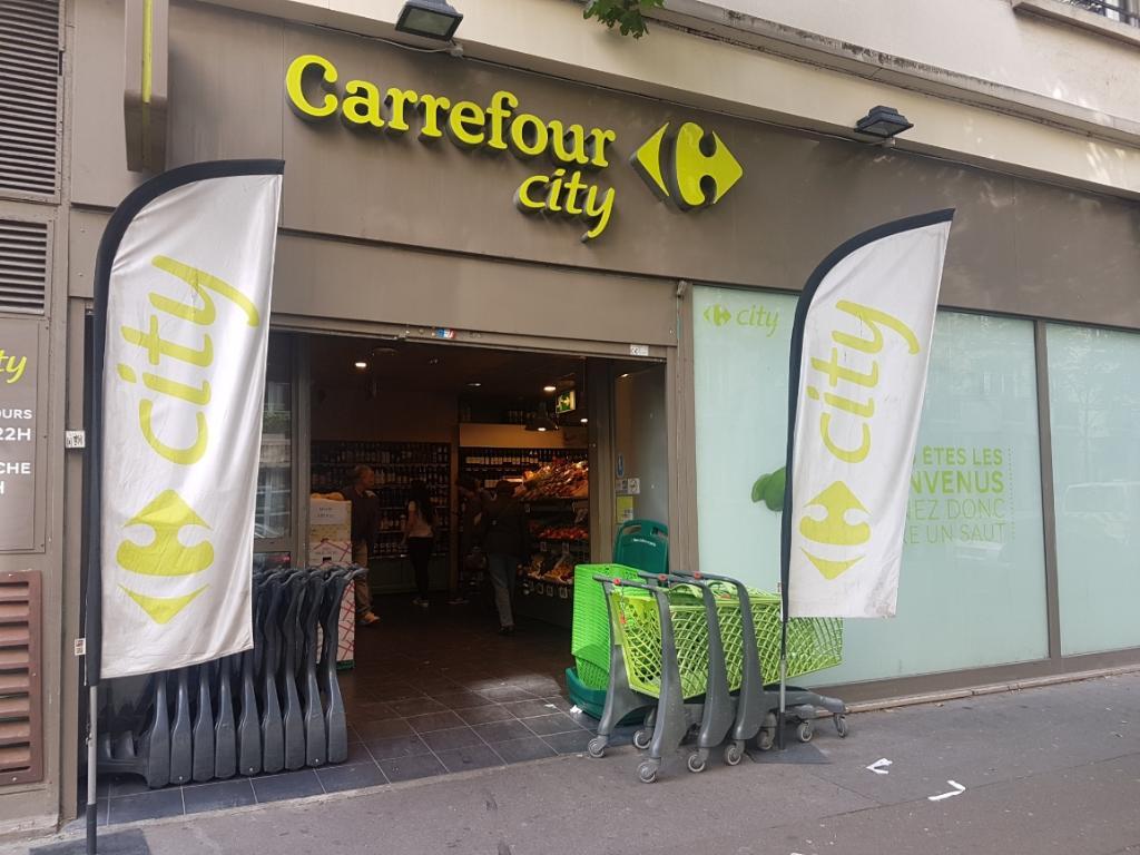 Carrefour city supermarch hypermarch 114 rue michel - Carrefour porte de montreuil horaires ...